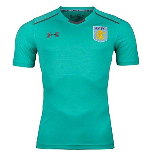 Under Armour Aston Villa 17/18 Football Training T-Shirt - Mosaic - Size M