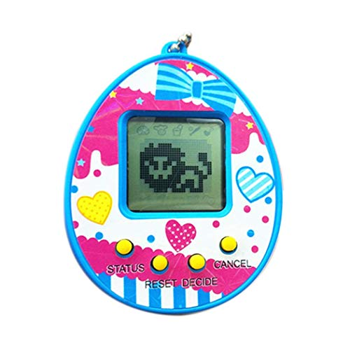 Tauser Kinder lustige Multicolor elektronische Tamagotchi virtuelle Pet Game Machine Spielzeug App-Spielzeug