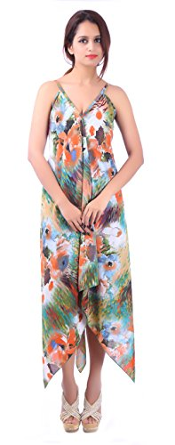 Sunrose Multicolor printed partywear dress