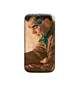 EPICCASE Premium Printed Back Case Cover With Full protection For Motorola Moto E (Designer Case)