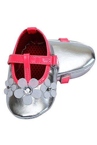 D'chica Super Stylish Early Walker Shoes For Baby Girls - Multicolor  available at amazon for Rs.250