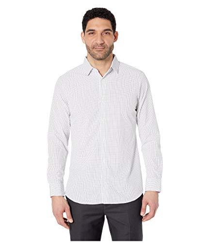 Mizzen + Main Leeward Trim Fit Herren Hemd mit Knopfleiste - bügelfrei, maschinenwaschbar, schweißabsorbierend - Weiß - X-Large-Trimmen -