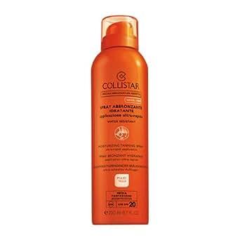 Collistar Spray abbronzante idratante, applicazione ultra-rapida, Spf 20, 200 ml