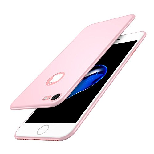 Vanki® Coque iPhone 6/6S, Ultrathin 0.1mm Ultra fine Super tactile Dur PC Phone Case Cover Pour iPhone 6/6S Plus Rose