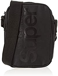 Superdry Herren Racing Pouch Rucksack, 16x22x6 Centimeters