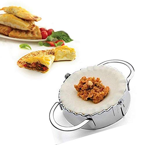 gotyou Dumpling Mold Maker,Ravioli Dumpling Maker Form Wrapper DIY Pierogie Pie-Crimper Gebäck Teig Drücken Cutter Küche Gadgets für Küchenhelfer,Chefkoch, Restaurant