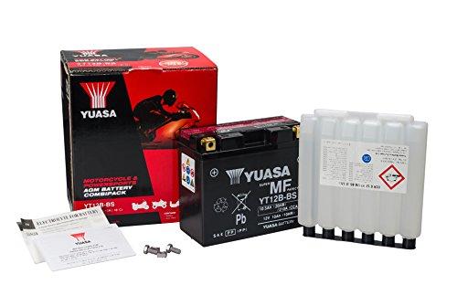 Zoom IMG-2 yuasa batterie yt12b bs agm
