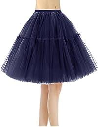 Bridesmay Faldas Cortas De Mujer Cancan Enagua para Fietsa Boda 960470c57d94