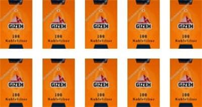 Gizeh Kohlefilter 8mm (10x100) Eindrehfilter