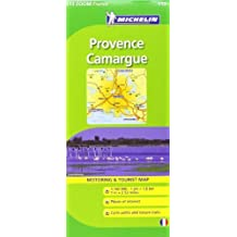 Provence, Camargue Michelin ZOOM map 113: Montpellier, Montélimar, Avignon, Marseille (Michelin Zoom Maps) by Michelin (2010-04-30)