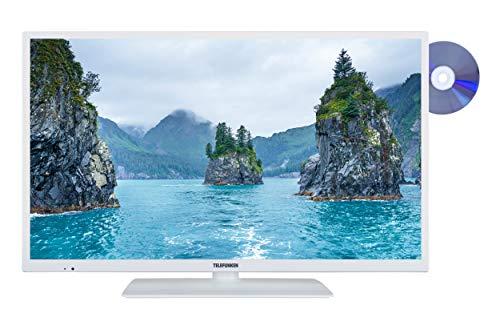 Telefunken XH32E411D-W 81 cm (32 Zoll) Fernseher (HD-Ready, Triple Tuner, Smart TV, DVD-Player)
