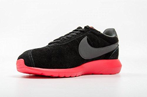 Nike Roshe LD-1000 QS, Chaussures de Running Entrainement Homme, Gris, Talla Schwarz / Grau / Rot (Schwarz / Anthrazit-Sirene Red-VLT)