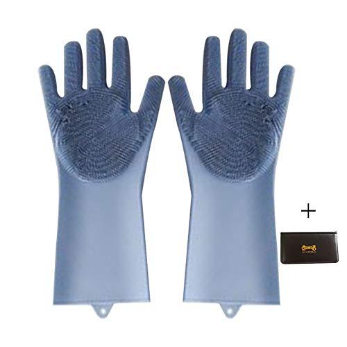 guanti lavapiatti Silicon Dish scrubber guanto