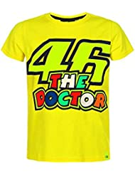 Valentino Rossi Camiseta niño VR46 Doctor Amarillo