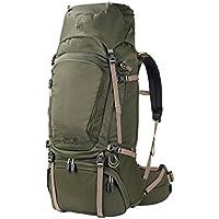 Jack Wolfskin Denali 65 Homme Sac à dos de trekking randonnée, Woodland Green, One Size
