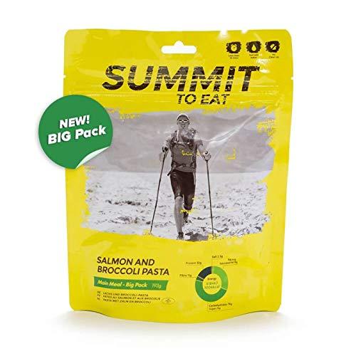 Summit To Eat Lachs und Brokkoli Pasta - Big Pack Gefriergetrocknete Outdoor Nahrung