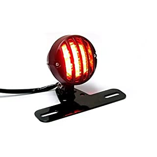 Motorbike Rear Stop Tail Light with Grill