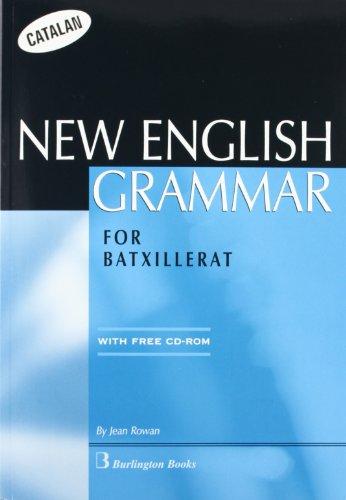 ENGLISH GRAMMAR BACHILLERATO ALUM CATALA - 9789963477548