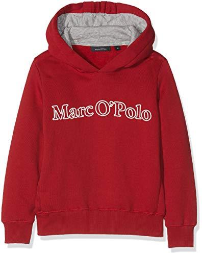 Marc O' Polo Kids Mädchen Sweatshirt 1/1 Arm, Rot (Jester Red 2120) 146