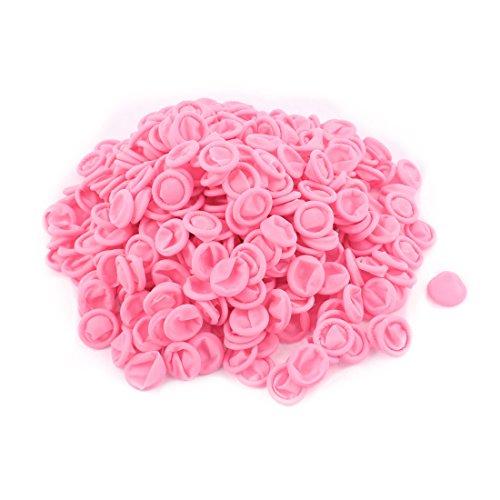 sourcingmap® 500stk. Rosa Finger Schutz Gummi Latex Finger Kissen Einmal Anti-Statik (Xl-antistatik-handschuhe)