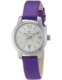TOM TAILOR Damen-Armbanduhr XS Analog Leder 5406405