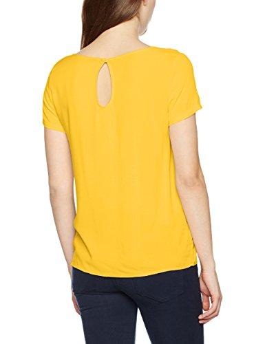Only Onlfirst SS Top Noos Wvn, T-Shirt Donna Giallo (Yolk Yellow Yolk Yellow)