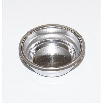 DeLonghi - Filtro pequeño 1 dosis para cafetera Dedica EC Eco ECP, repuesto original
