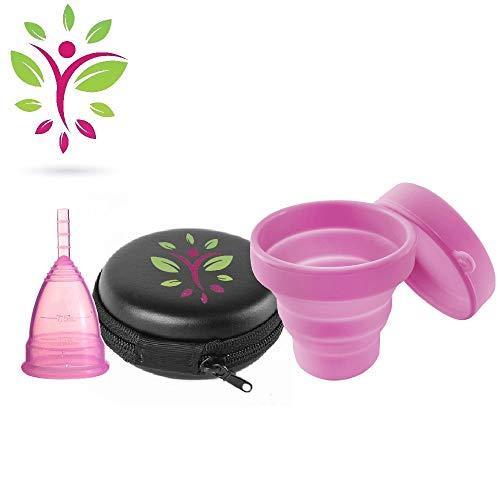Fit Cup Copa Menstrual silicona médico hipoalergénico