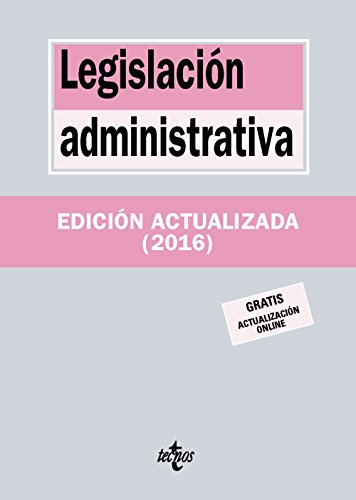 Legislación Administrativa (Derecho - Biblioteca De Textos Legales)