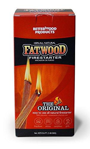 Fatwood 023865099835 - Parrilla de iniciación de Incendios, Color Natural