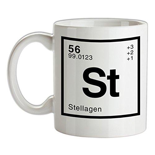 Stella Periodensystem - Bedruckte Kaffee- und Teetasse