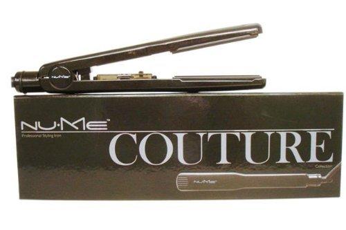 "Nume Couture negro turmalina cerámica 11/3\""soporte de hierro/pelo cabello 40V"