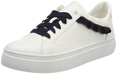 ESPRIT Damen Dabria LU Sneaker Weiß (White), 39 EU