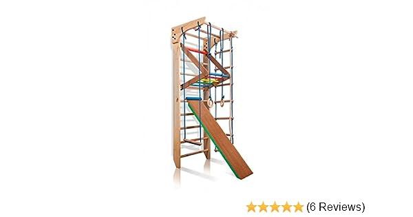 Klettergerüst Baby Holz : Turnwand kinder gym klettergerüst ˝kinder 3 220 farbe˝ holz