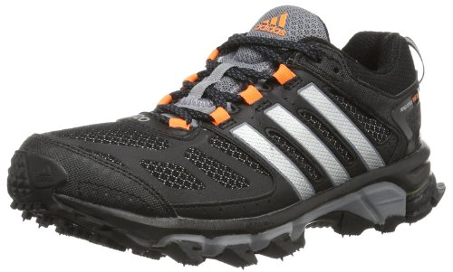 adidas Performance Response Trail 20 W D66515, Damen Sportschuhe - Fitness, Schwarz (BLACK 1 / METALLIC SILVER / GLOW ORANGE S14), EU 40 2/3 (Trail-running-schuh Response)