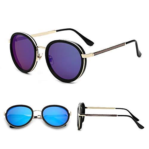 guangpeng 2019 männliche Sonnenbrille weibliche Sonnenbrille Himmelblau