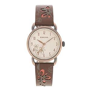 Kahuna AKLS-0250L – Reloj de Cuarzo para Mujer, con Correa de Cuero,