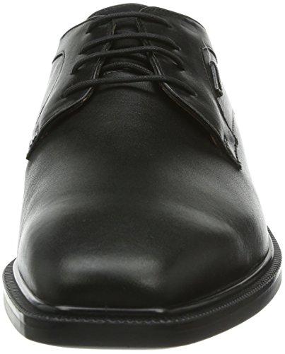Geox Malexaabx2, Derby homme Noir (C9999)