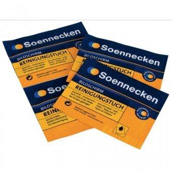 Nasse Reinigungstücher (SOE Reinigungstücher 04838 Bildschirme Box je 10St trock.u.naß)