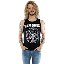 85aa82a5ab Absolute Cult Ramones Hombre Circle Flowers Camiseta L3bBh2REWV ...
