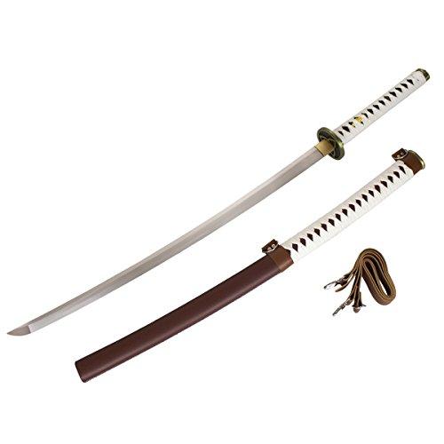 DerShogun Michonne Katana Samuraischwert mit Klinge aus 1045 Carbonstahl Ab 18