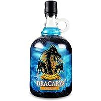 Dracarys Ice 70 cl - Licor a base de vodka con sabor a frutas caramelizadas, agita y descubre el fuego de dragón