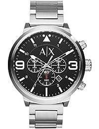 b0c982f83658 Amazon.es  reloj armani hombre - Plateado  Relojes