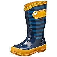 BOGS Kids Stripes Rain Boot, 9 M US Toddler