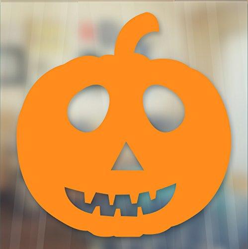 Spooky Evil Pumpkin Jack Lantern Halloween Vinyl Decal Wandaufkleber Fenster Car by Inspired Walls®