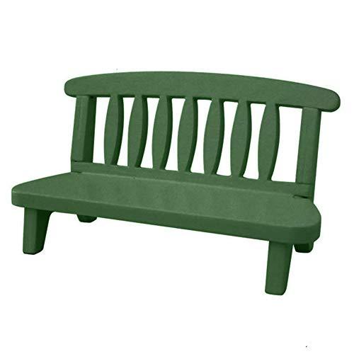 Zubehör Vintage Miniatur Holz Couch Stuhl Spielzeug Handwerk Foto Prop Langlebig und Nützlich ()