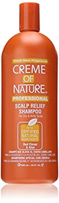 Creme Of Nature Scalp Relief Shampoo (red Clover & Aloe) 32 Oz - Read Reviews