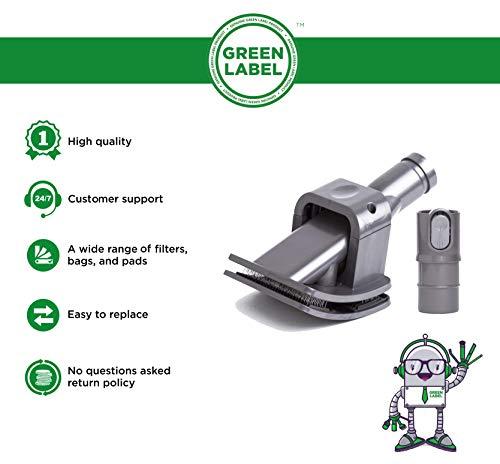 Zoom IMG-1 green label groom spazzola per