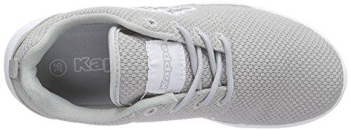 Kappa Speed Ii, Baskets Basses Mixte Adulte Gris (L'grey/white)