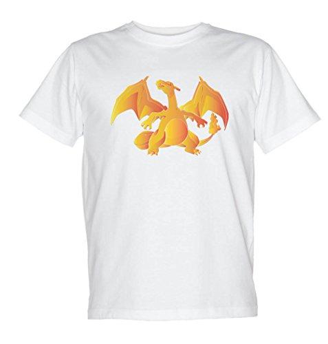 Monster Dragon Animé femmes T Shirt - Blanc - Taille 38